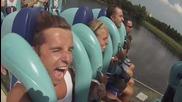 Влакче в увеселителен парк Seaworld Orlando