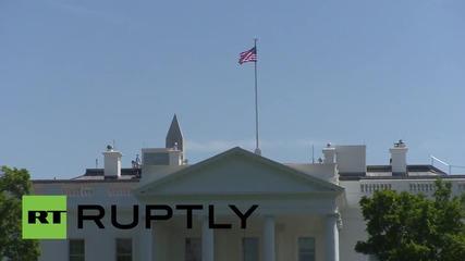 Арести заради използване на летящ дрон близо до Белия дом
