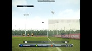 Директен гол от корнер на Pro Evolution Soccer 2013