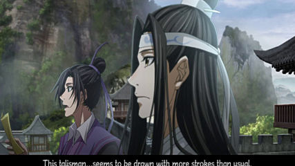 The Grandmaster of Demonic Cultivation (mo Dao Zu Shi) Episode 14 bg sub