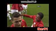 11.03 Манчестър Юнайтед - Интер 2:0 Кристиано Роналдо Гол