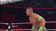 John Cena vs. Seth Rollins: Raw, July 7, 2014
