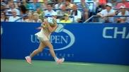 Тенисистката Caroline Wozniacki спечели победа ,но сигурност след този мач ще си промени прическата