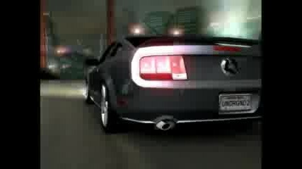 Nfsu2 Mustang Bayview Bridge Drag
