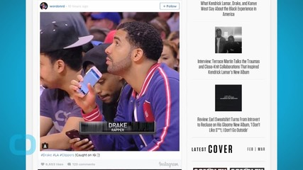 Drake Was Doing Drake Things at the Clippers and Warriors Game Last Night