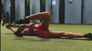 Фитнес моделът Brittany Coutu показва невероятната си тренировка!