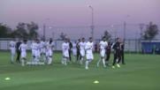 Тунис тренира в очакване на Англия