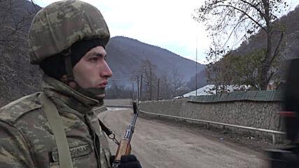 Azerbaijan: Azeri military convoy heads towards Kalbajar region vacated by Armenian forces