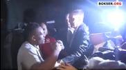 меле между Чисора и Хей след мача с Витали Кличко