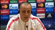 ВИДЕО: Бербатов говори на английски или какво заяви Митко в навечерието на мача с Арсенал