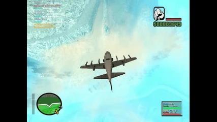 как самолет прави супер номера
