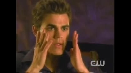 The Vampire Diaries Interview - Paul Wesley