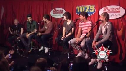 One Direction - Интервю за 107.5 The River - Нашвил част 2/3