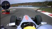 F1 Turkey 2010 Onboard lap