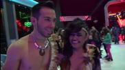 Dancing Stars - Eлена и Дидо след спасяването им (08.05.2014г.)