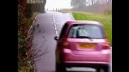 Top Gear - Mg Zr срещу Ford Fiesta срещу Citroen C3 срещу Honda Jazz срещу Nissan Micra
