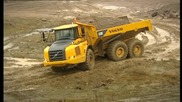Volvo - Articulated - Hauler - A30e - Features