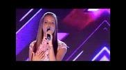 16-годишната талантлива и красива Нелина Георгиева пее прекрасно - X Factor Bulgaria 2013
