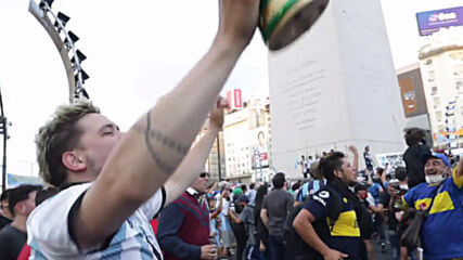 Argentina: 'I died with him' - Fans pay tribute to football icon Maradona