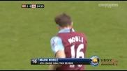 02.04 Уест Хям Юнайтед 2 - 4 Манчестър Юнайтед - Най - доброто от мача