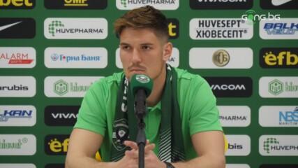 Новият в Лудогорец: Заради Дамбраускас съм тук, отборът е най-добрият в България