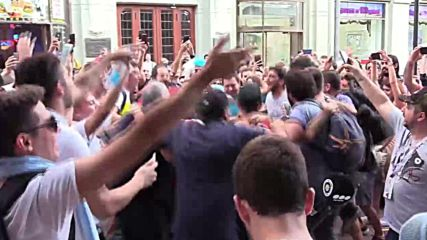 The ultimate World Cup song? Exuberant Argentina fans create their own 'Katyusha'