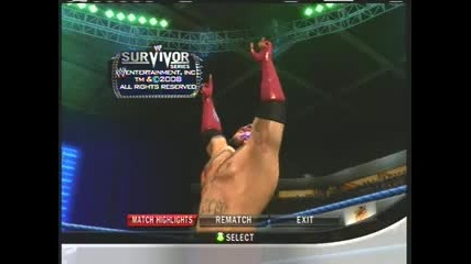 Wwe Smackdown vs Raw 2010 Rey Mysterio vs Batista Survivor Series Part 2