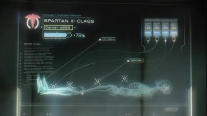 Halo Reach - Birth of a spartan trailer
