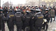 Russia: 30 detained at Moscow's 'March of Change'