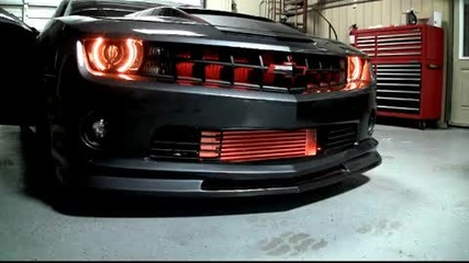 2010 Camaro Amber Led Night Rider Scanner Bar from Advanced Automotive Concepts