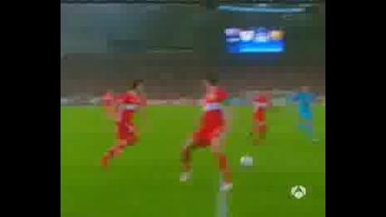 Щутгарт - Барселона 0:2 Лео Меси Гол
