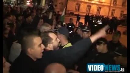 Гавра с Бг полицай-свалиха му фуражката