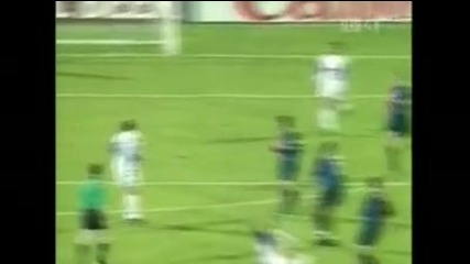 Рядко красив гол! Най - красивият гол в историята на Шл Мауро Бресан - Фиорентина - Барселона 3:3