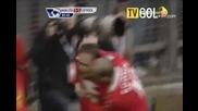 Манчестер Юнайтед 3 2 Ливърпул - Berbatov - голове