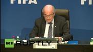 Switzerland: Sepp Blatter questions legitimacy of FIFA arrests
