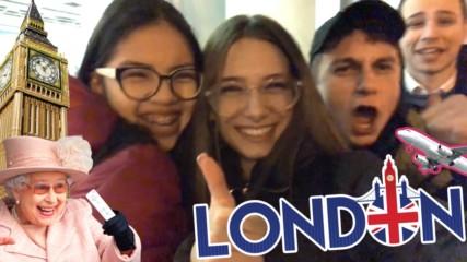 В Лондон е супер ЯКО! Най-ЗАБАВНИТЕ моменти от пътуването ми!