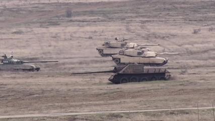 Bulgaria: Bulgaria, Romania and the US conduct live-fire military drills