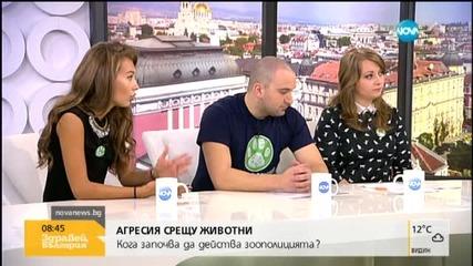 Никол Станкулова: Хората да се отнасят човешки с животните