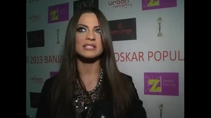 Milica Pavlovic - Intervju - Glamur - (TV Svet Plus 2013)
