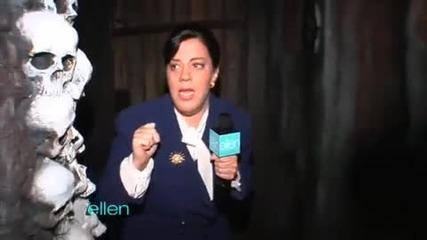 Ellen`s Frightened Writer [ Уплашена ] 100% смях