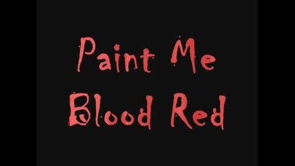 Luke Duke In Paint Me Blood Red