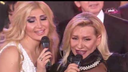 Vesna Zmijanac - Da budemo nocas zajedno - Pinkovo novogodisnje veselje - (Tv Pink 31.12.2016)