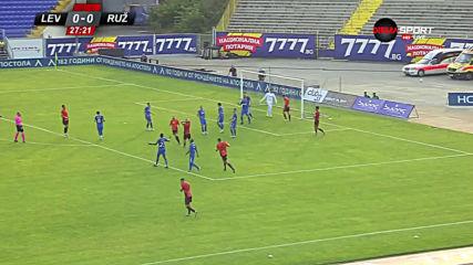 Левски - Ружомберок 1:0 /първо полувреме/