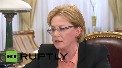 Russia: Putin meets Minister of Health, financing increased by $3.9 billion