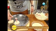 Рецептата днес - Пилешки крилца със сусам и скордаля - На кафе (24.03.2014г.)