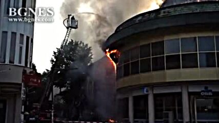 Голям пожар в Благоевград