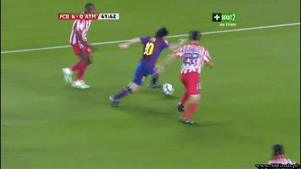Fc Barcelona vs Atletico Madrid - 4 - 0 - Keita