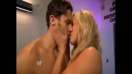 Layla завари Fandango и Summer Rea да се целуват - Wwe Smackdown - 20/6/14