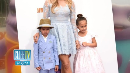 Jennifer Lopez's Twins Steal Spotlight at Home Premiere