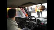 Лада 2106 разцепва Subaru Impreza